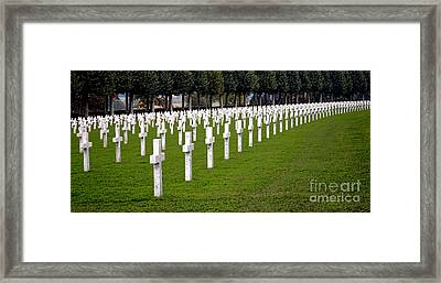 The Fallen Braves  Framed Print by Olivier Le Queinec