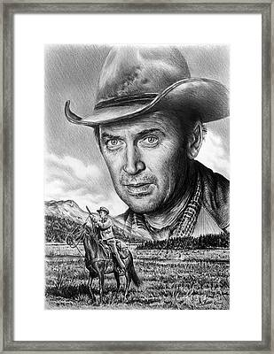 The Far Country Framed Print by Andrew Read
