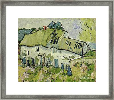 The Farm In Summer Framed Print by Vincent van Gogh