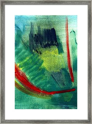 The Fearless One Framed Print by Ishwar Malleret