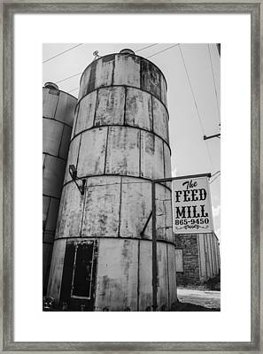 The Feed Mill Framed Print by Craig David Morrison