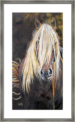 The Feral Framed Print by Melody Perez