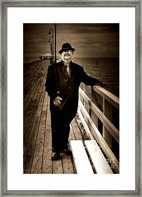 The Ferryman Framed Print by Jorgo Photography - Wall Art Gallery