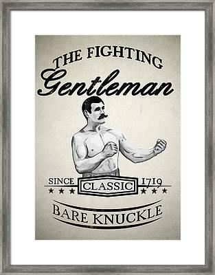 The Fighting Gentlemen Framed Print by Nicklas Gustafsson