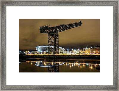 The Finnieston Crane Glasgow Framed Print by Buster Brown