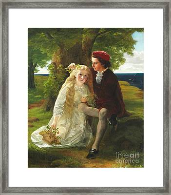 The First Love Framed Print by Celestial Images