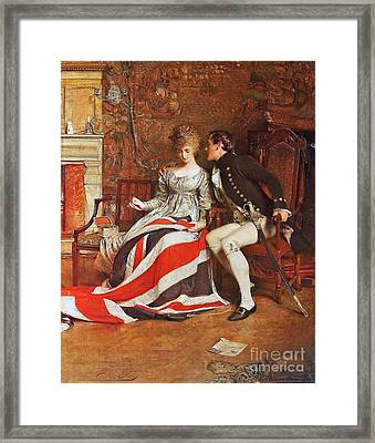 The First Union Jack  Framed Print by MotionAge Designs