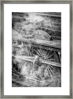 The Flying Scotsman Framed Print by John Potter
