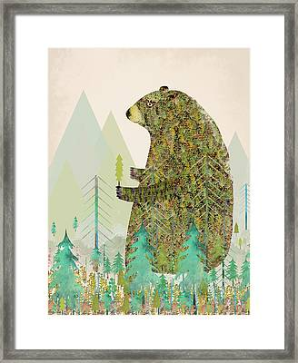 The Forest Keeper Framed Print by Bri B