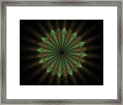 The Form Of Meditation Framed Print by Sergei Dolgov