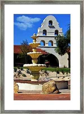 The Fountain Framed Print by Patricia Stalter