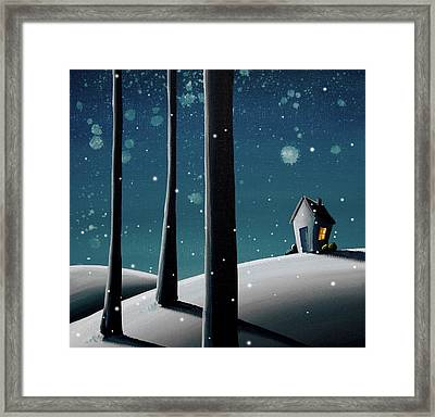 The Frost Framed Print by Cindy Thornton