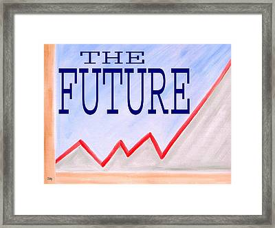 The Future Framed Print by Patrick J Murphy