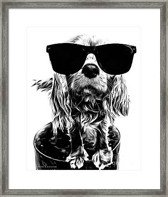 The Future's So Bright, I Gotta Wear Shades Framed Print by Edward Fielding