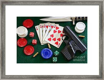 The Gambler Framed Print by Paul Ward