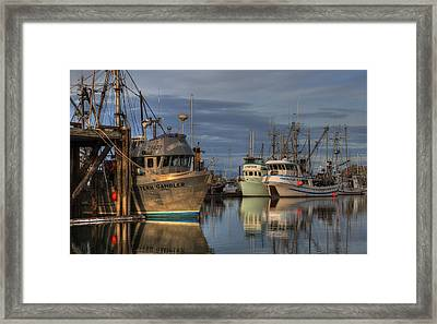 The Gambler Framed Print by Randy Hall