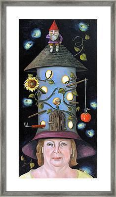 The Gardener Framed Print by Leah Saulnier The Painting Maniac