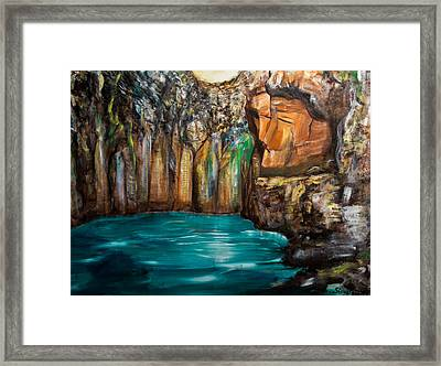 The Gateway Framed Print by Solveig Katrin