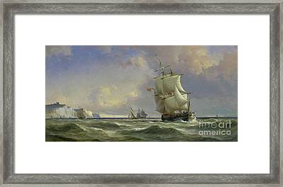 The Gathering Storm Framed Print by Anton Melbye