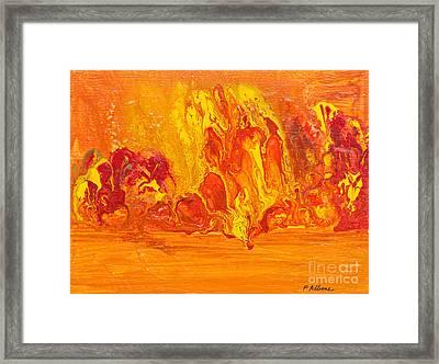 The Geysers Framed Print by Phil Albone