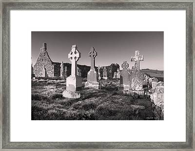 The Ghosts Of Ireland Framed Print by Robert Lacy