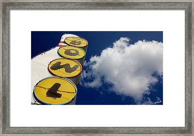 The Giant's Play Ground Framed Print by Ed Smith