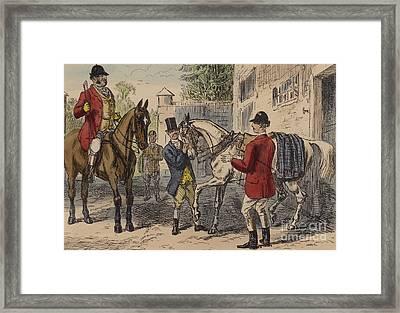 The Gift Horse Framed Print by John Leech