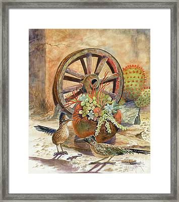 The Gift Framed Print by Marilyn Smith