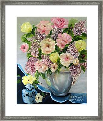 The Ginger Jar Framed Print by Carol Sweetwood