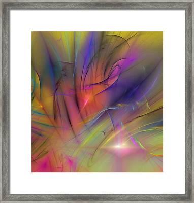 The Gloaming Framed Print by David Lane