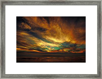 The Glory Framed Print by James Heckt