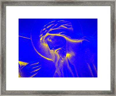 The Glow Of Christ Framed Print by Mike McGlothlen