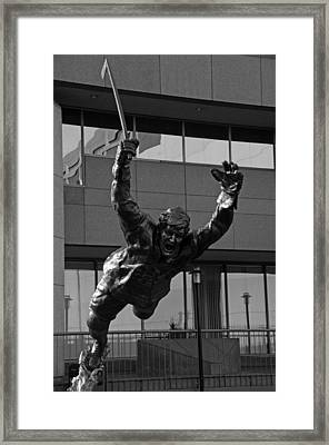 The Goal Framed Print by Mike Martin
