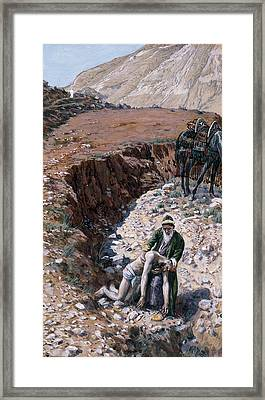 The Good Samaritan Framed Print by Tissot