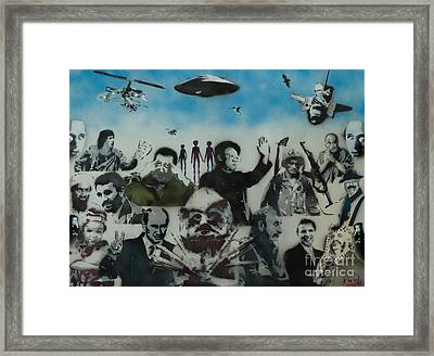 The Good The Bad And The Ugly Framed Print by Barry Boom