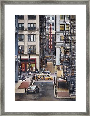 The Goodman From The Platform Framed Print by Scott Norris