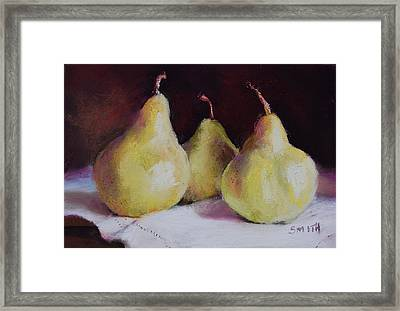 The Gossips Framed Print by Jeanne Rosier Smith