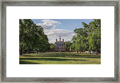 The Governor's Mansion Framed Print by Nicola Ibba