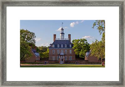 The Governor's Palace Framed Print by Nicola Ibba