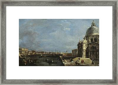 The Grand Canal, Venice Framed Print by Francesco Guardi