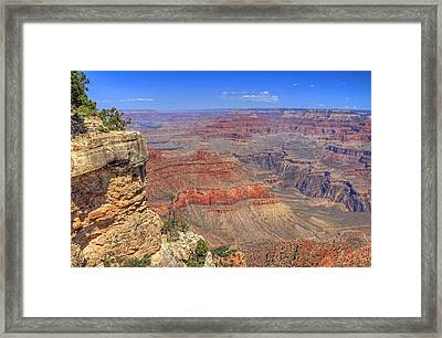 The Grand Canyon Framed Print by Donna Kennedy