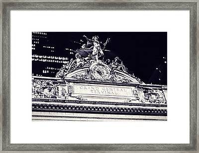 The Grand Central Terminal Framed Print by Dan Sproul
