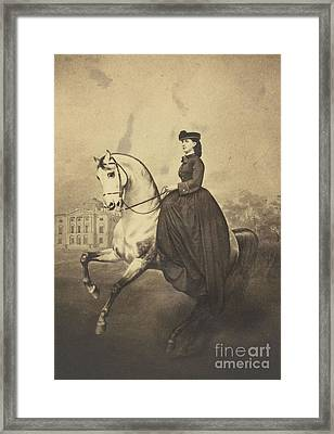 The Grand Duchess Alexandra Framed Print by MotionAge Designs