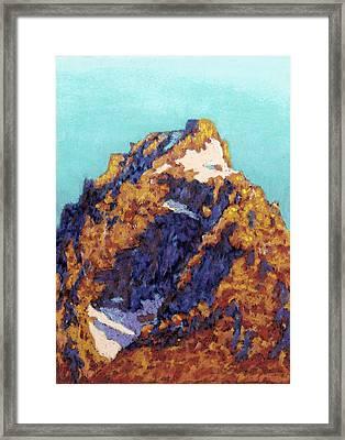 The Grand Teton Framed Print by Abbie Groves
