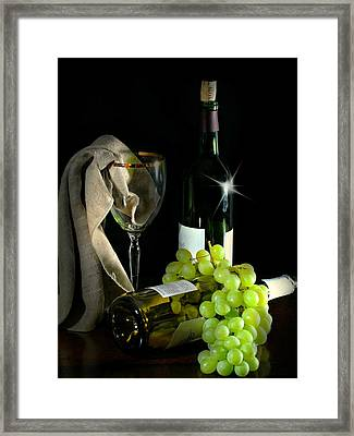 The Grapes Framed Print by Diana Angstadt