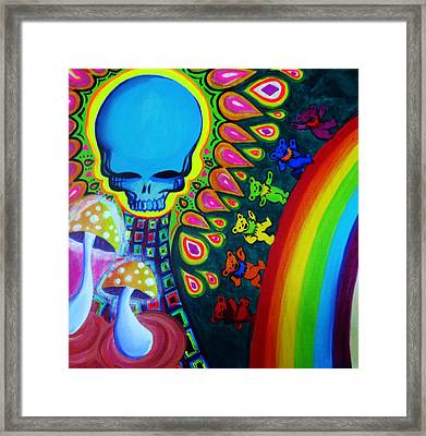 The Grateful Head Framed Print by Jasleni Brito