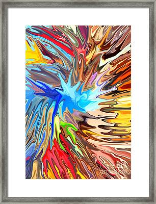 The Great Barrier Reef Framed Print by Chris Butler