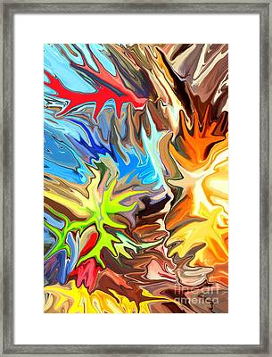 The Great Barrier Reef II Framed Print by Chris Butler