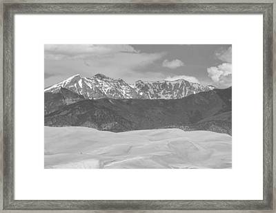 The Great Colorado Sand Dunes  Framed Print by James BO  Insogna
