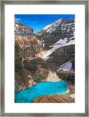 The Great Divide Framed Print by Steve Harrington